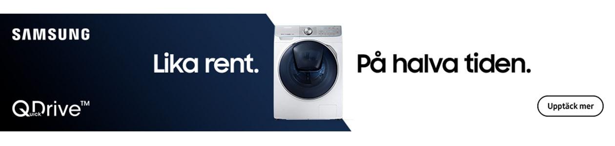 Samsung tvättmaskin med QuickDrive