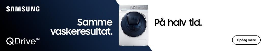 Samsung vaskemaskine med QuickDrive