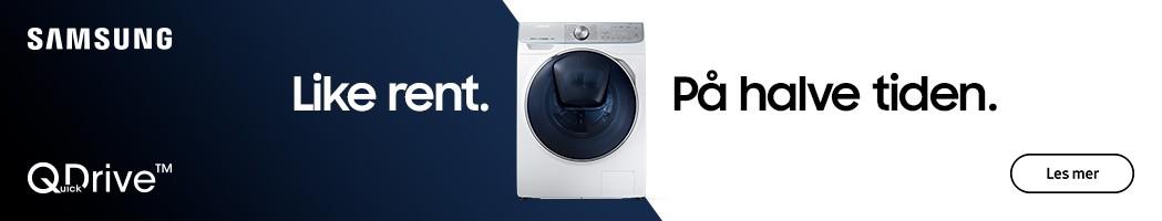 Samsung vaskemaskin med QuickDrive