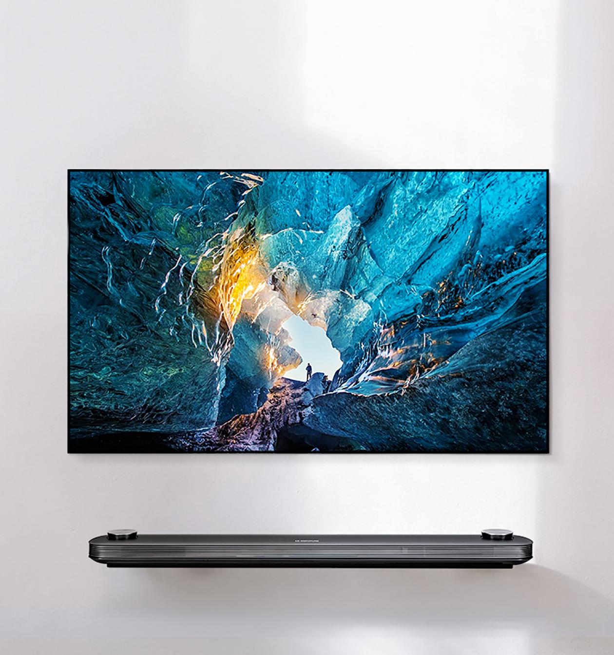 Aktiv HDR - LG Signature 4K OLED TV