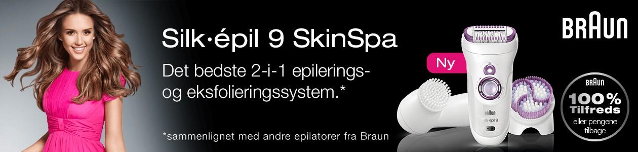 Braun Silk- épil 9 SkinSpa - sommerens bedste epilator