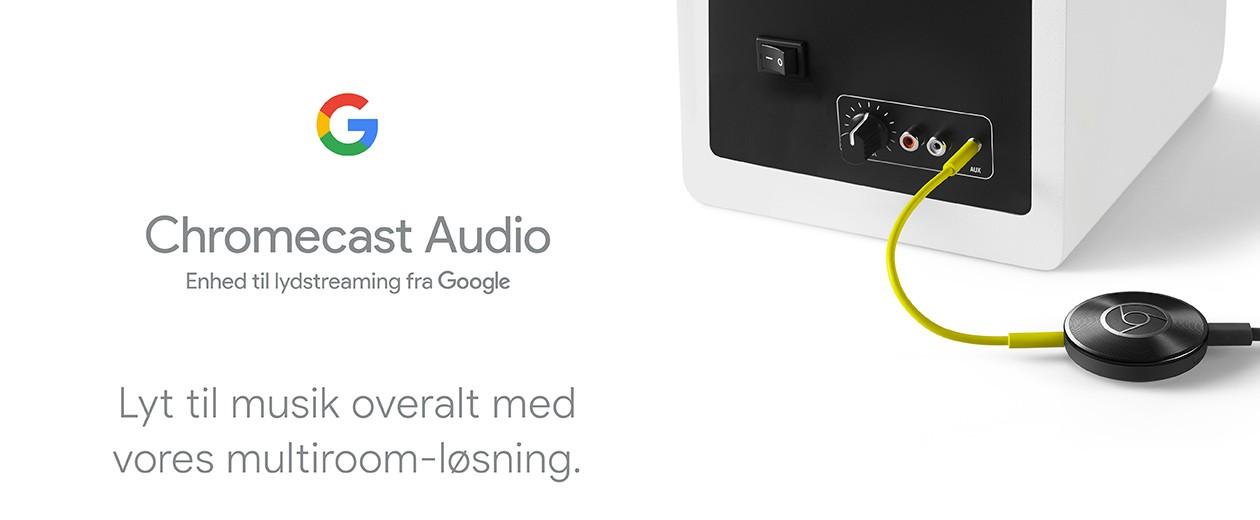 Cast din yndlingsmusik fra din telefon eller tablet til dine højttalere