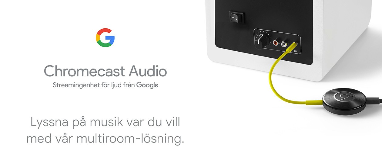 Chromecast Audio - streama musik från mobilen till högtalarna
