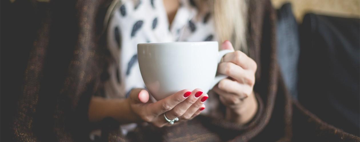 En kop kaffe!