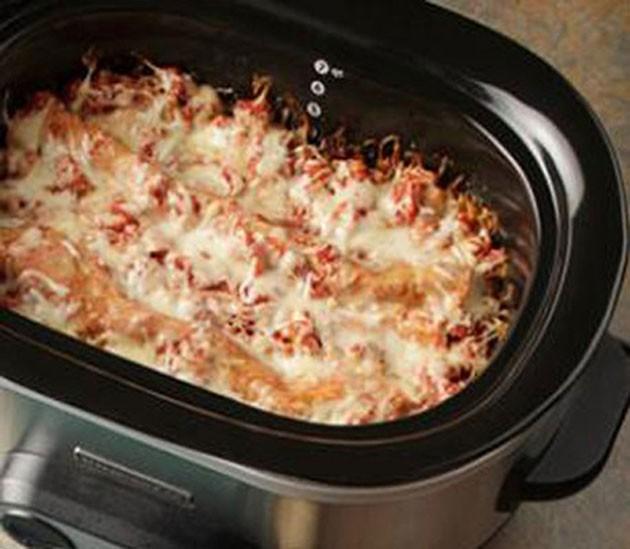 CrockPot Vegetarisk Lasagne