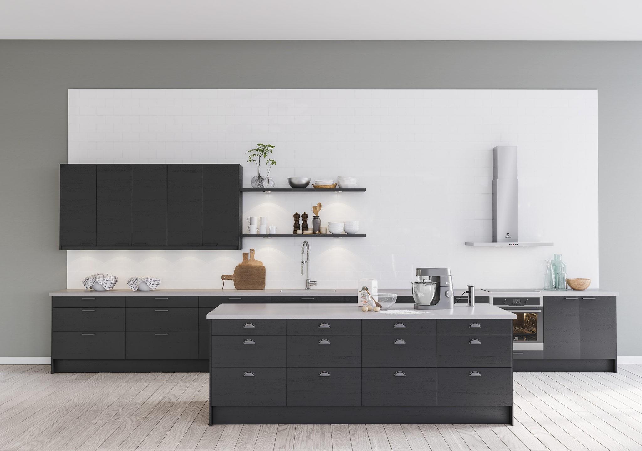 Köksinspiration - Edge - Genuint och stramt kök från Epoq hos Elgiganten