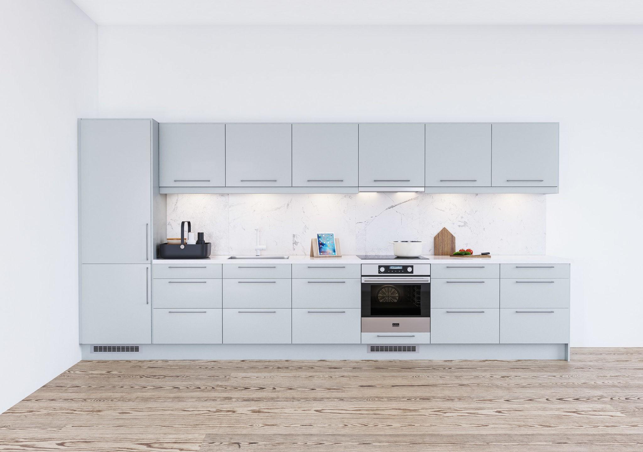 Köksinspiration - Trend - Stilrent kök med slät kökslucka från Epoq hos Elgiganten
