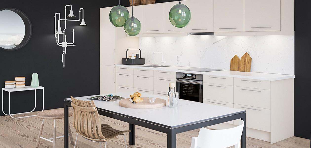 Keittiösuunnitteluohjelma auttaa alkuun uuden keittiön suunnittelussa