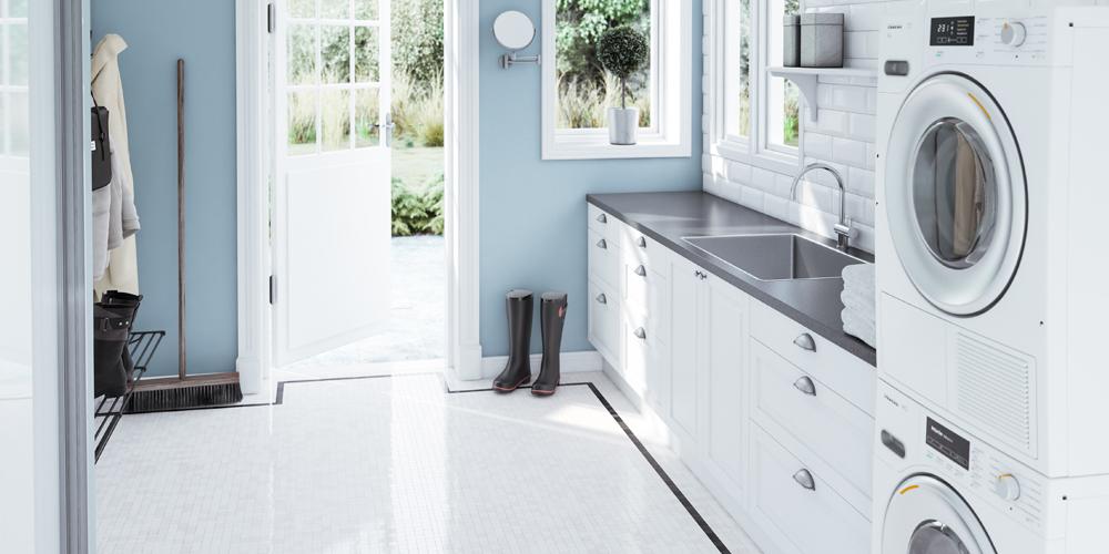 Køkken - Gloss White