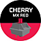 MIONIX WEI KEYBOARD NORDIC - feature-cherry-mx-red