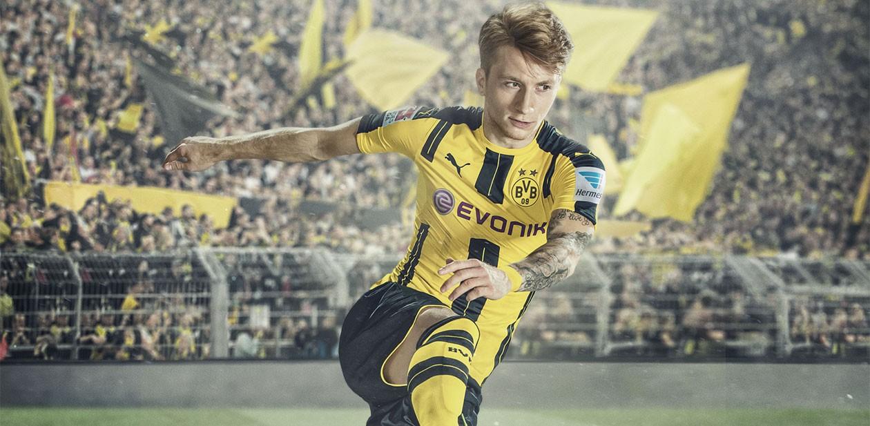 Spela som Marco Reus i FIFA 17