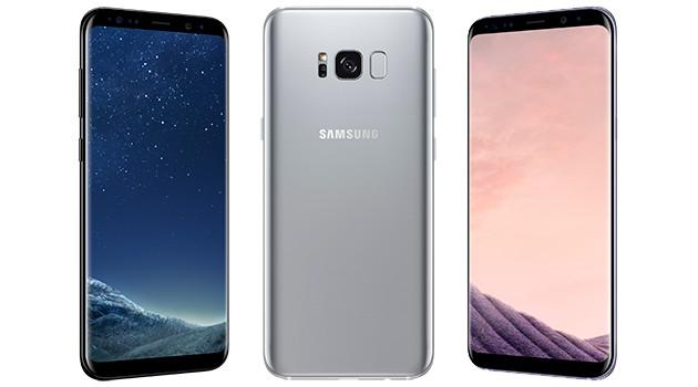 Galaxy S8 og S8+ har en skjerm som føles uendelig