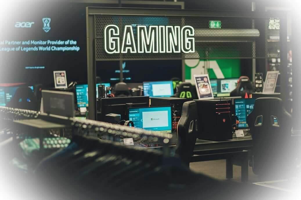Tervetuloa tutustumaan Tammiston Gaming-alueeseen!