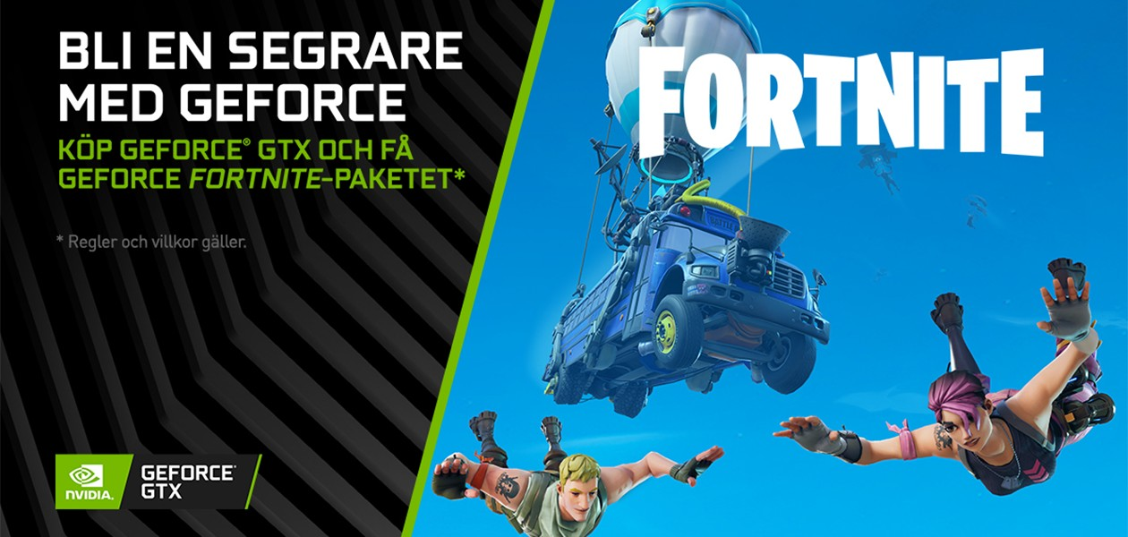 GeForce Fortnite Paketet