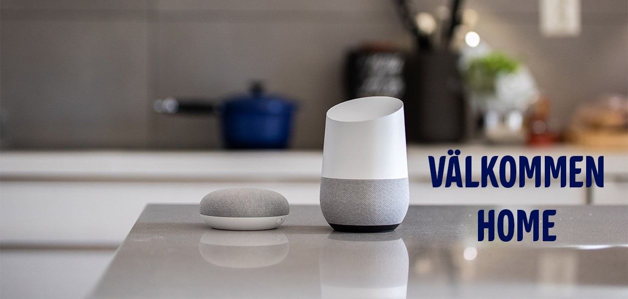 Google Home och Google Home Mini – Nu på svenska