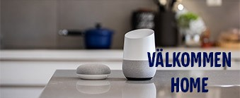 Google Home och Google Home Mini - svensk version