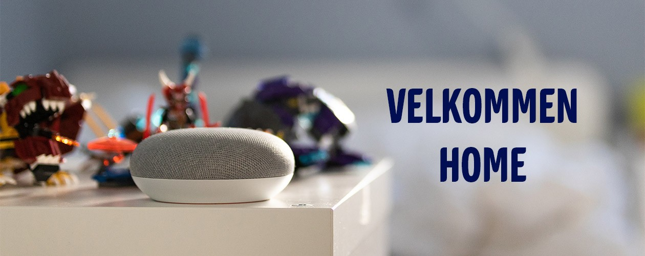 Google Home Mini - nu snakker den dansk
