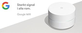 Les om hvordan du får full WiFi-dekning i hele huset med Google WiFi