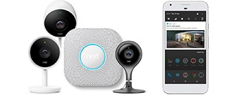 De smarte overvåkningskameraene og røykvarslerne til Nest