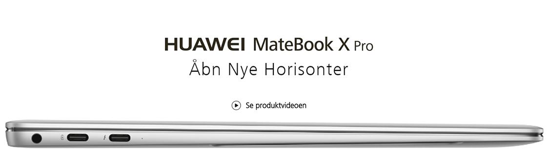 Huawie MateBook X Pro 13.9 bærbar