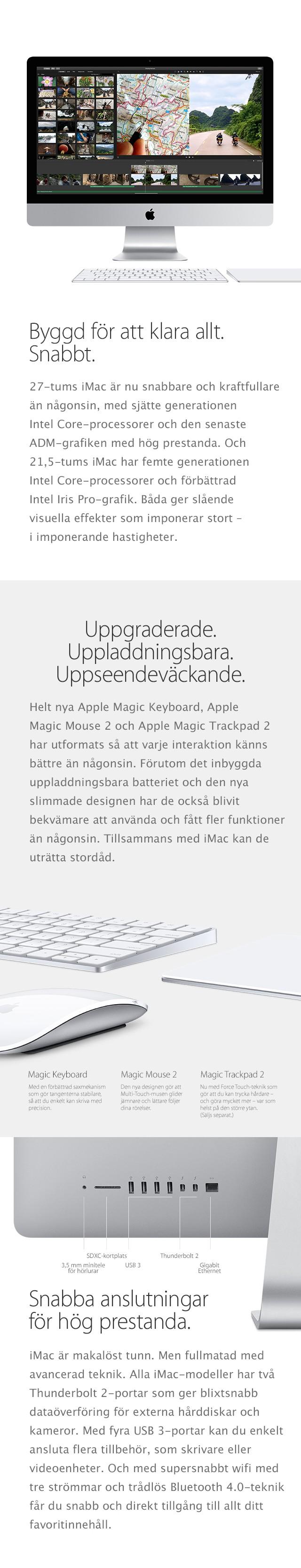 iMac - snabb och intelligent