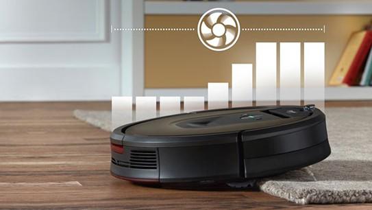 Roomba robotstøvsugere med Boost-funktion