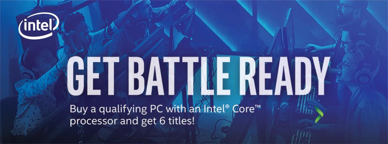 Köp en gaming pc - få sex titlar på köpet!