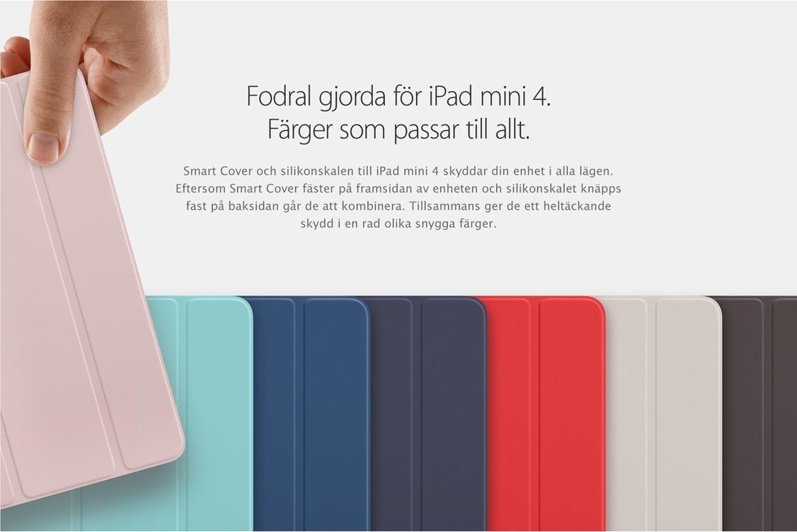 Skydda din iPad mini 4 med ett smart cover