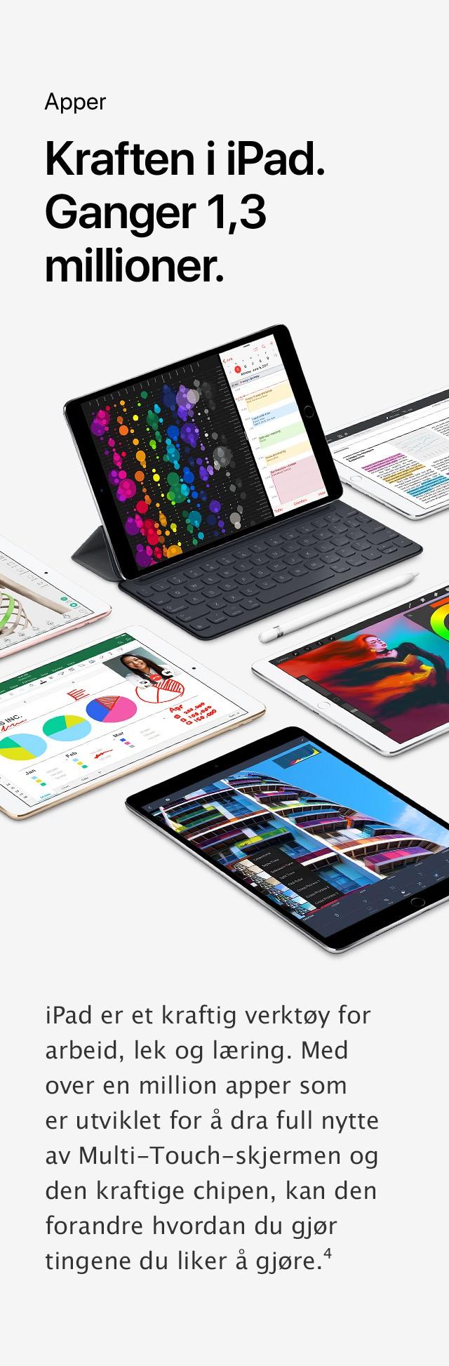 Kjøp iPad Pro 9,7'' og 12,9''
