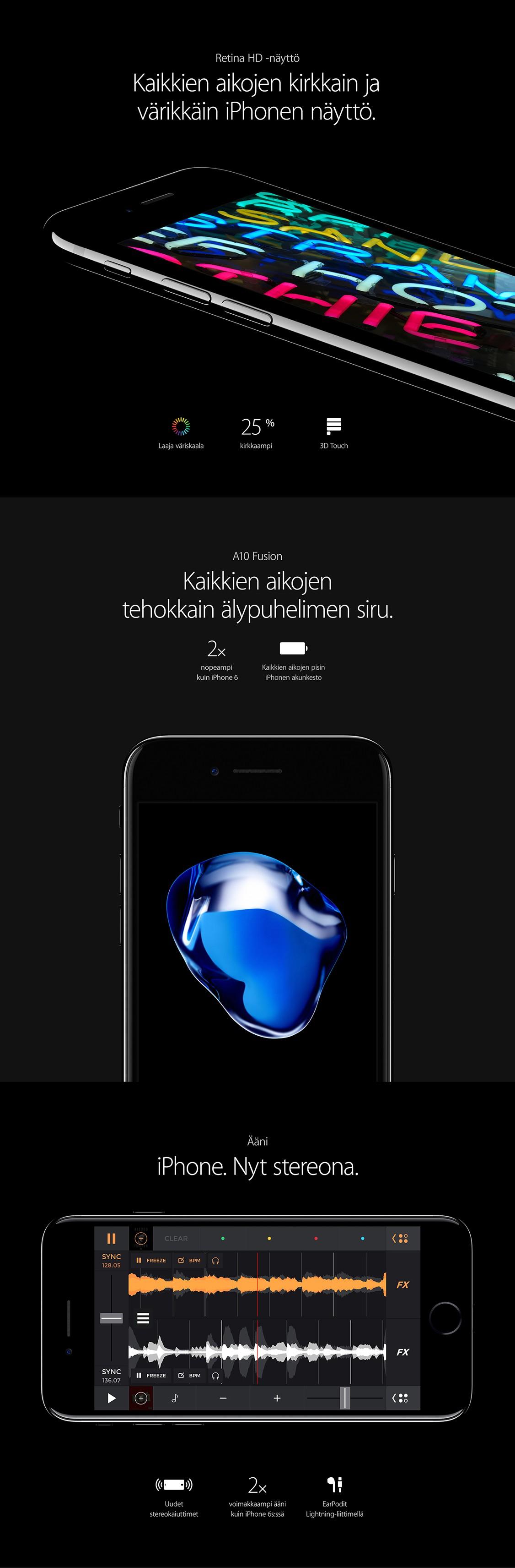 iPhone 7:ssä on kaikkien aikojen kirkkain iPhonen näyttö