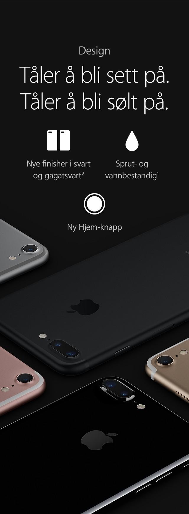 Kjøp iPhone 7 og iPhone 7 Plus hos Elkjøp
