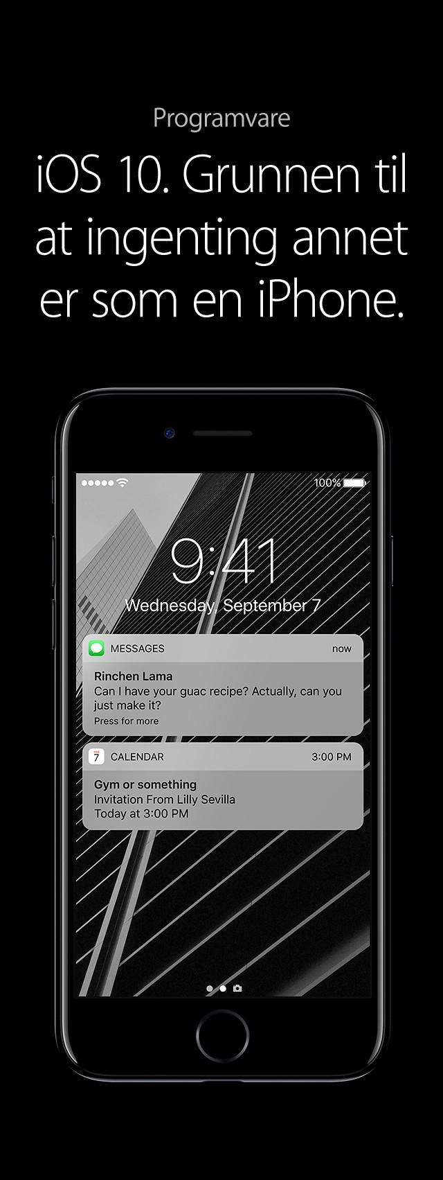 Kjøp iPhone 7 og iPhone 7 Plus hos Elkjøp | Vanntett og sprutsikker med et kamera i toppklasse