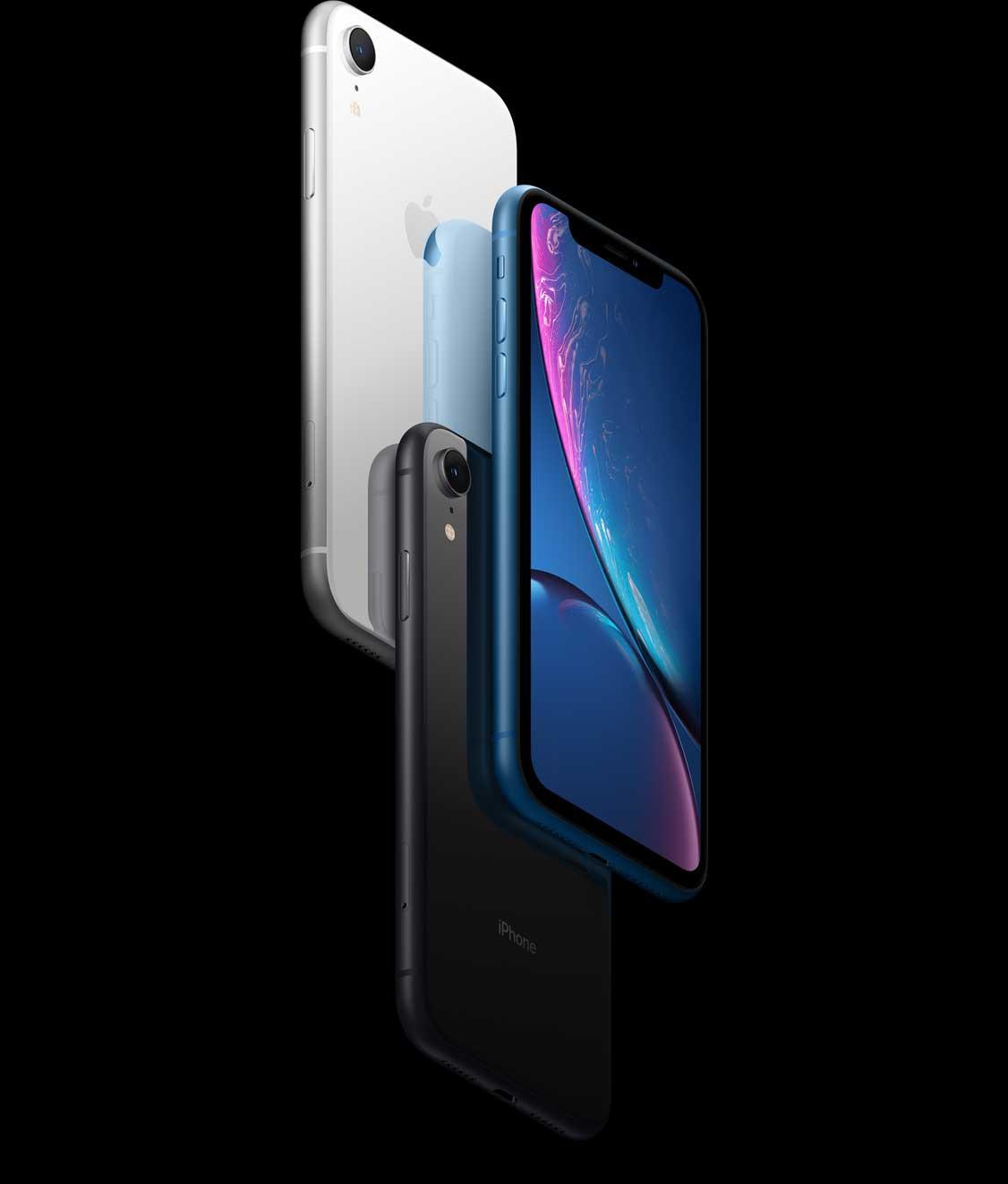 iPhone XR - Med verklighetstrogna färger ända ut i kanterna
