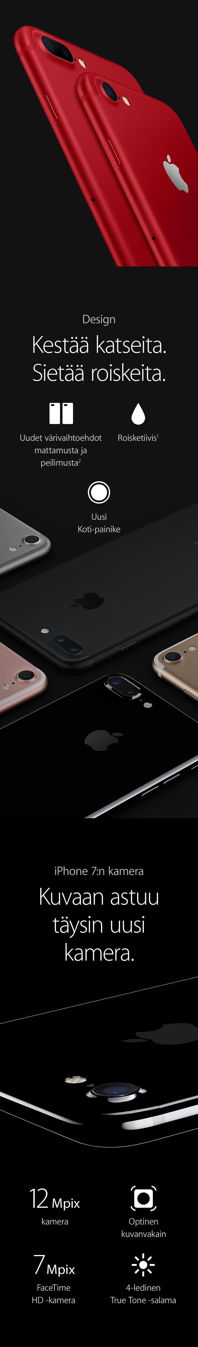 iPhone 7 Plussan innovatiivinen kaksoiskamera tekee sen, mitä muut yrittävät - täydelliset kuvat valaistuksesta riippumatta.
