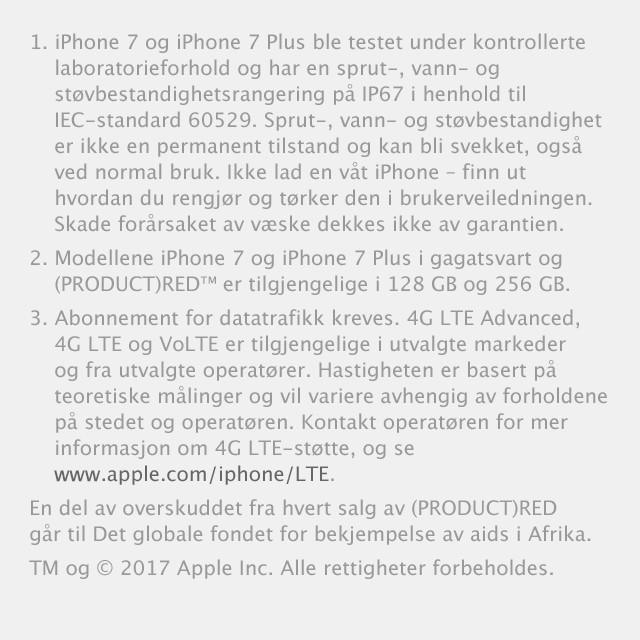 Kjøp iPhone 7 og iPhone 7 Plus hos Elkjøp | Bedre lyd og raskere surfing
