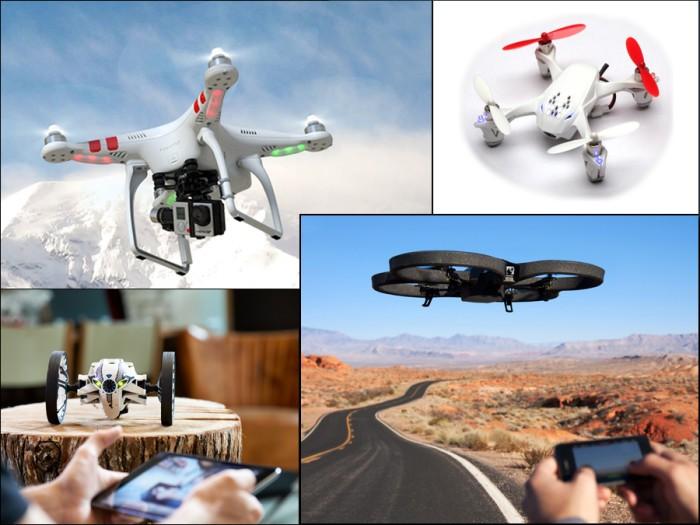 kamerakopterit ja dronet