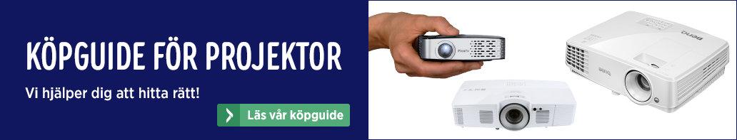 elgiganten projektor guide