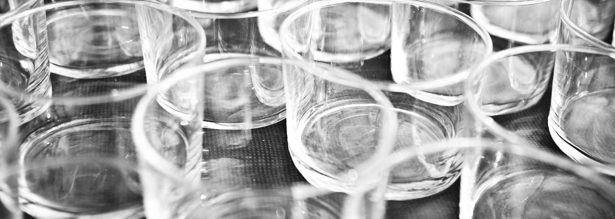 Kjøkkenglass