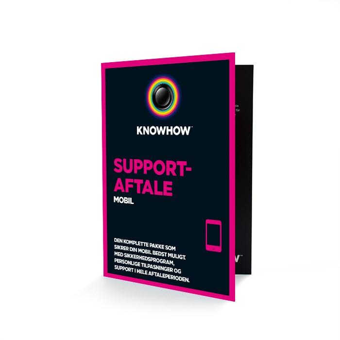 Få support til din mobil
