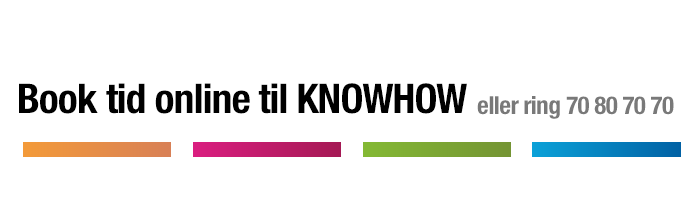 Book tid til KnowHow i Elgiganten