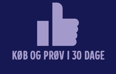 Køb og prøv produktet i 30 dage