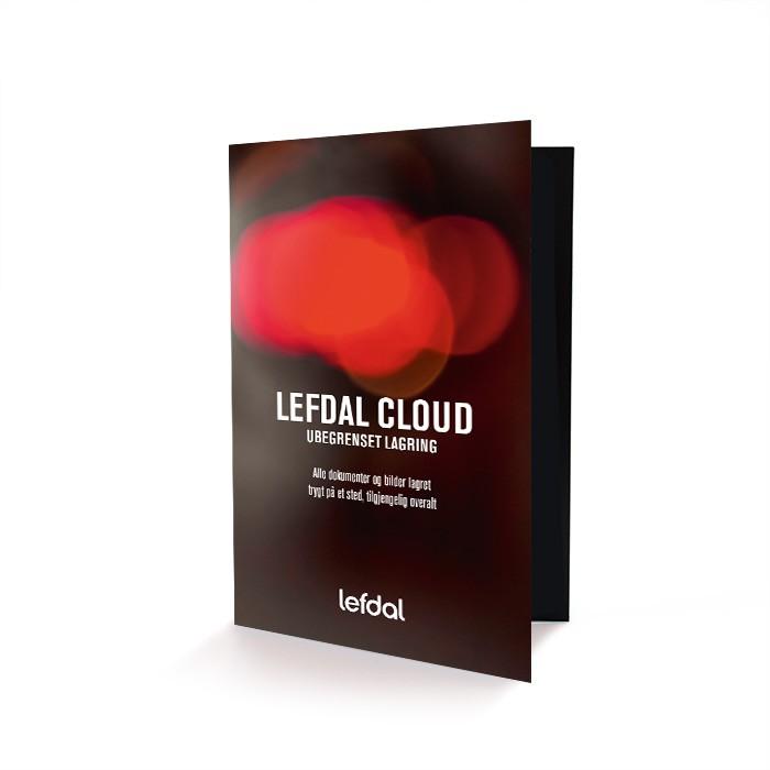 Lefdal Cloud – ubegrenset lagring