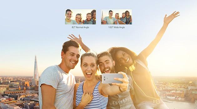 LG G6:s kamera ser till att alla får plats i bilderna