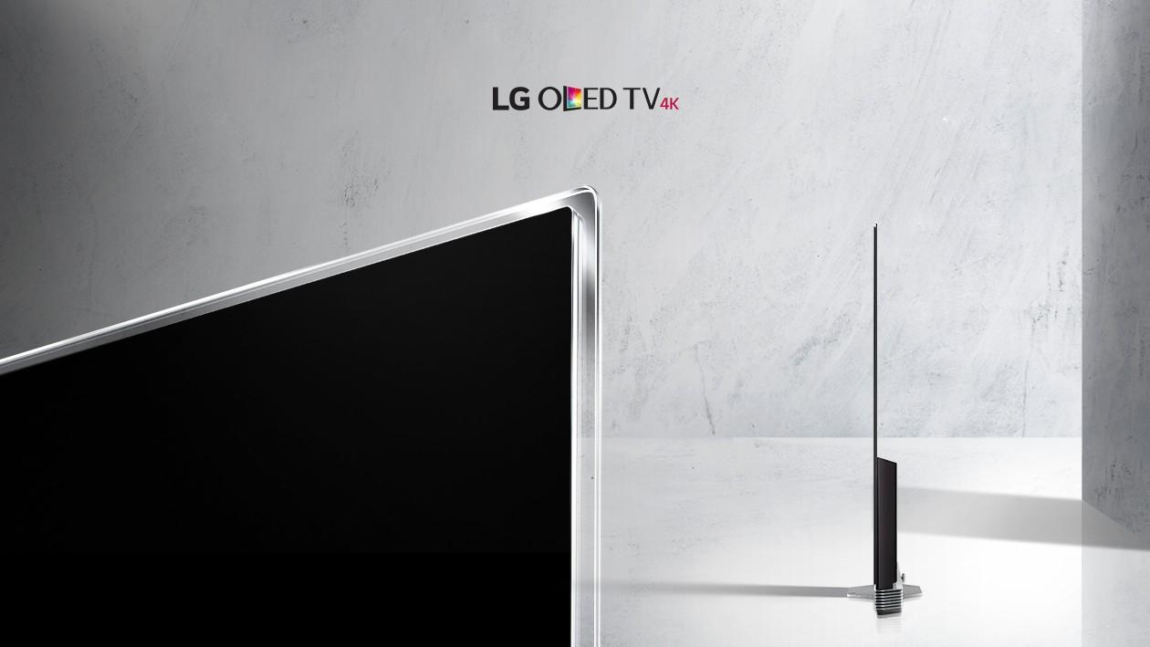 Upplev ramlös TV med LG OLED E7