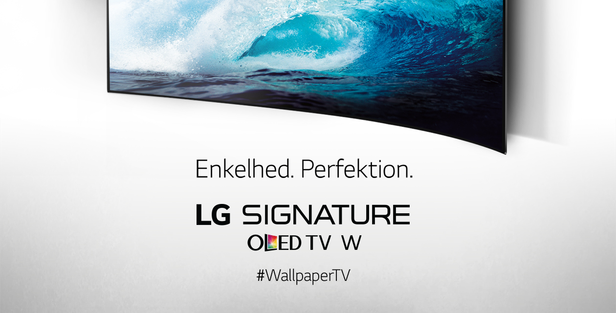 LG Signature OLED TV W - Enkelhed og Perfektion