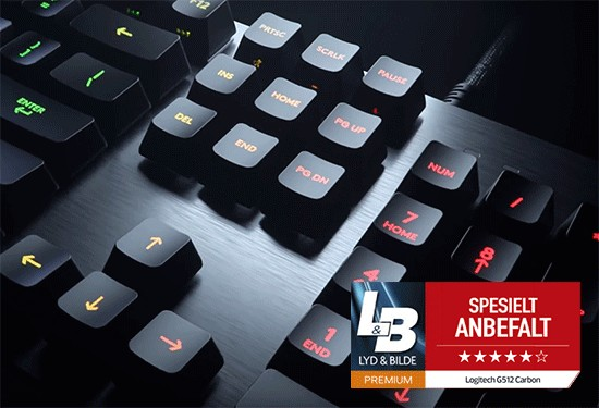 Logitech G513 Carbon Test