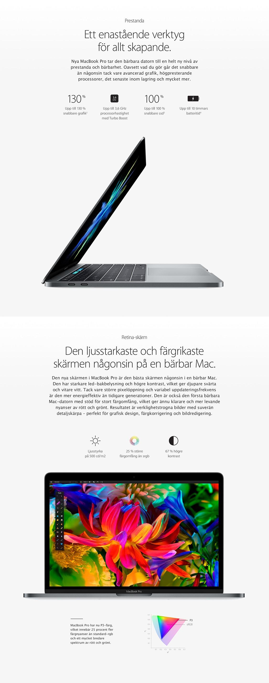 MacBook Pro – lättare, tunnare och bättre