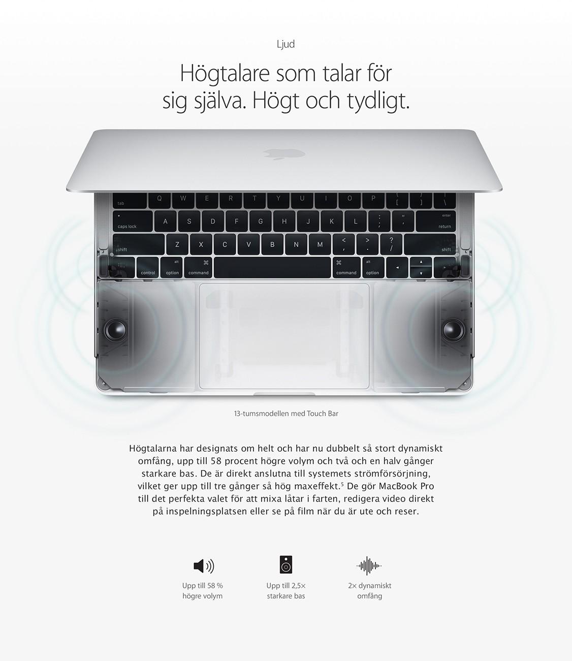 MacBook Pro - Användarvänlig och intelligent