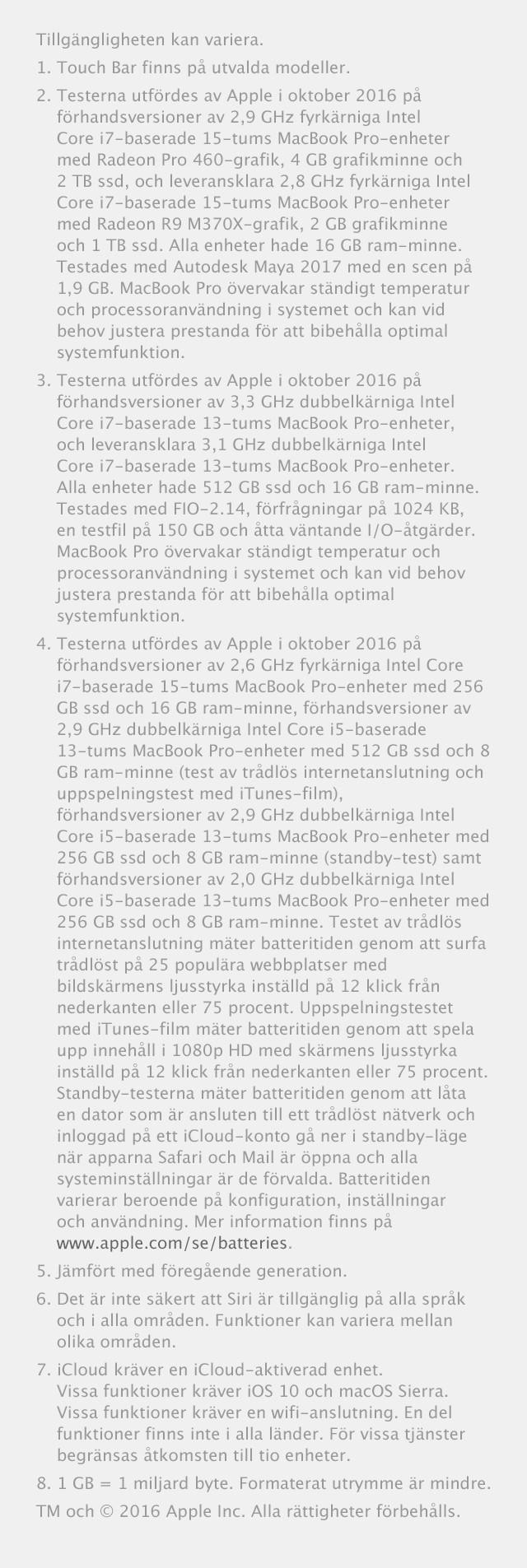 MacBook Pro - mjukvara som tar dig längre
