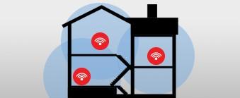 Trådløst Mesh-nettverkssystem